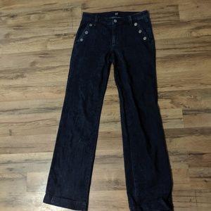 Gap Wide-legged Jeans